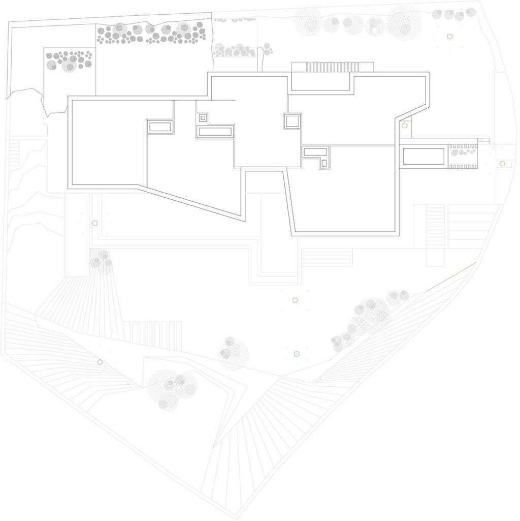 Planos de vivienda unifamiliar con vistas al mar y a la montaña de Benidorm