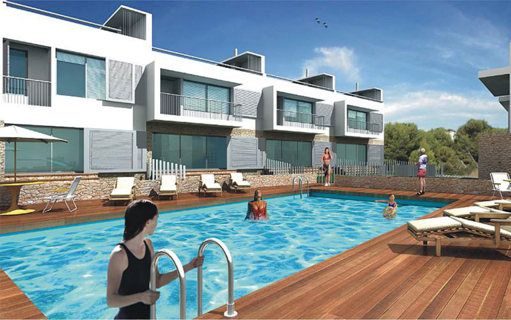 Edificio de viviendas integradas con el entorno