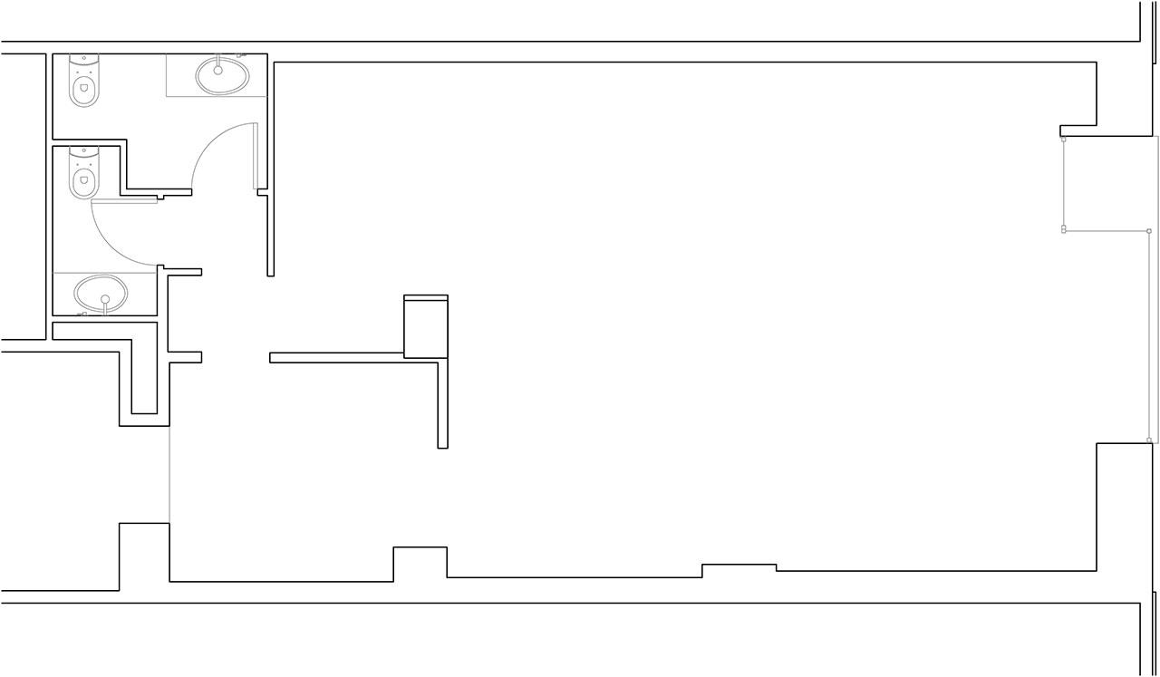 Plano previo proyecto de interiorismo de estilo clásico-contemporáneo italiano. Restaurante Sale&Pepe.