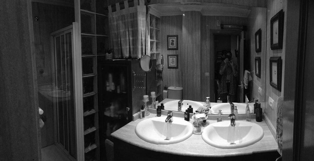 Foto de estado previo de proyecto de reforma de vivienda familiar con redistribución de espacios ganando en amplitud y luminosidad