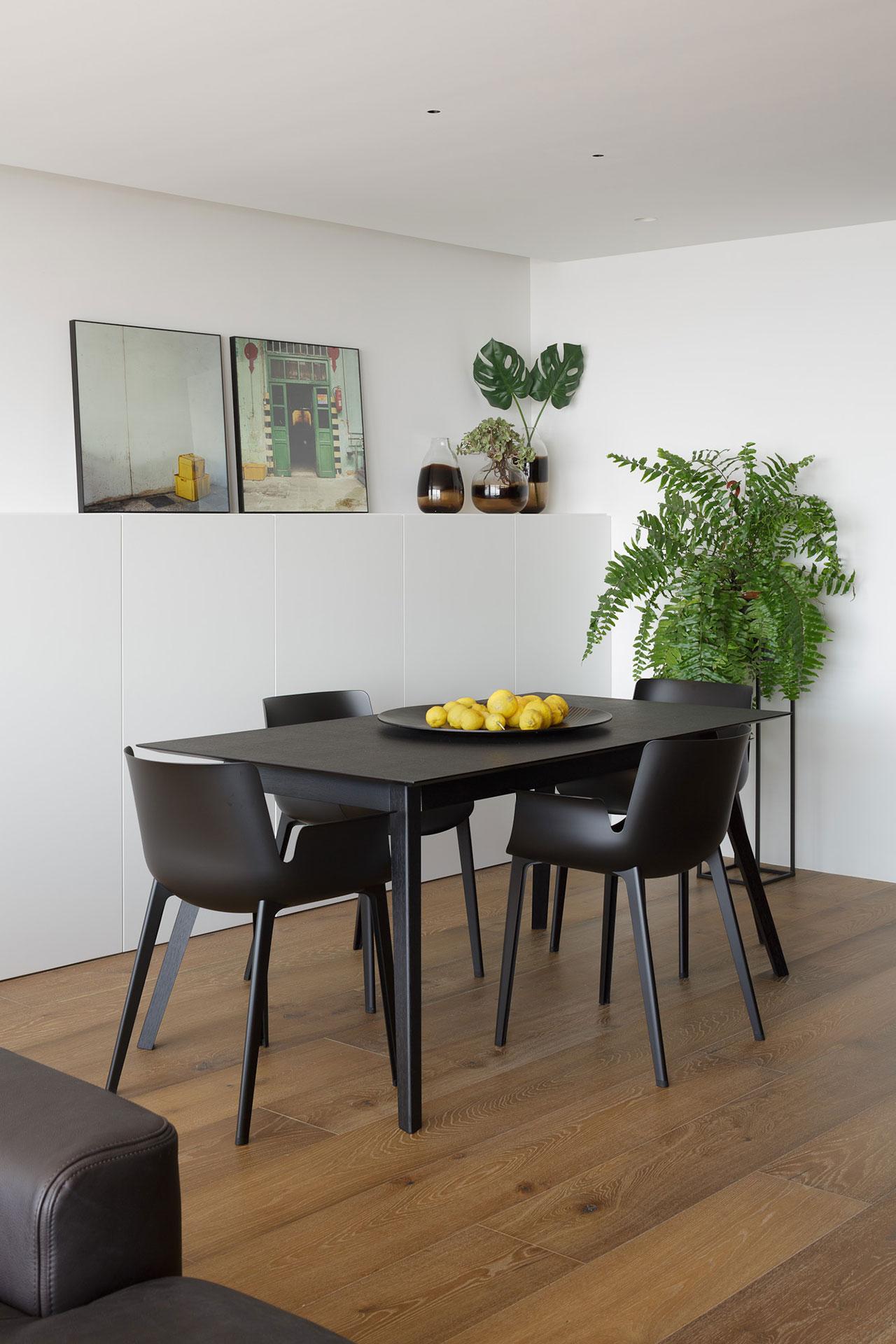 Reforma de vivienda en salón, comedor y cocina para conseguir iluminación natural
