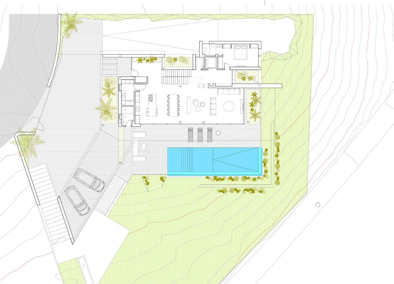 Planos proyecto de arquitectura para vivienda unifamiliar